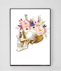 Home decoration is one of the most important elements that help you to define the… Doctors Office Decor, Medical Office Decor, Skull Anatomy, Anatomy Art, Dental Art, Doctor Gifts, Medical Art, Medical Illustration, Skull Print