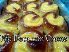 Nice Patrocinio shared a video Churros, Brazillian Food, Our Daily Bread, Portuguese Recipes, Bread Rolls, Sweet Bread, International Recipes, No Bake Desserts, French Toast