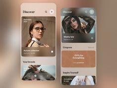 App Home Screen, App Design, Coding, Autumn, Mobile Ui, Instagram, Popular, Design Web, Fall Season
