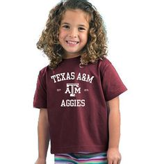 Texas A&M Aggies NCAA Maroon Toddler T-shirt