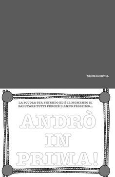 Un libro per salutare la scuola dell'infanzia – Olimpia Ruiz di Altamirano Crafts For Kids, Craft Kids, Letters, Book, Crafts For Children, Toddler Arts And Crafts, Kids Arts And Crafts, Letter, Lettering