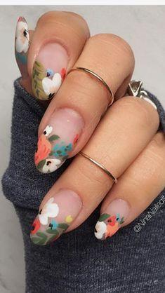 Stunning Designs for Almond Nails You Won't Resist; almond nails long or s… Stunning Designs for Almond Nails You Won't Resist; almond nails long or s… Diy Nails, Cute Nails, Pretty Nails, Nail Art Images, Web Images, Almond Nails Designs, Almond Acrylic Nails, Almond Nail Art, Peach Acrylic Nails