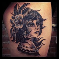tattoos + tutus | illustratedgentleman: Lady killer!...
