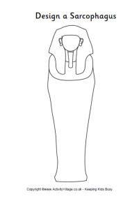 Design a sarcophagus printable