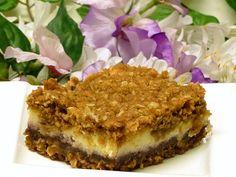 Bake-Ahead Blackberry Bar Cookies Have A Hidden Cheesecake Layer: Blackberry Cheesecake Bars Recipe