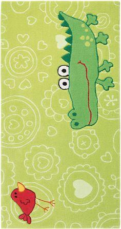 Spectacular Kinderzimmer Teppich Happy Zoo Crocodile onloom Teppiche