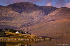 Light shines down on Luib, Isle of Skye