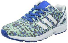 adidas Originals ZX Flux Weave B34474, Herren Low-Top Sneaker, Blau (Blau/Ftwr Weiß/Core Schwarz), EU 44 2/3 - http://autowerkzeugekaufen.de/adidas/adidas-originals-zx-flux-weave-b34474-herren-low-2