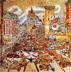 Costantino Nivola Times Square