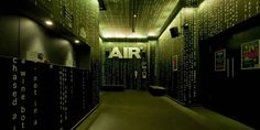 Top Interior Designers - Amazing Design Projects by Marcel Wanders Air Club entrance's gallery in Amsterdam developed by the Dutch designer Marcel Wanders.