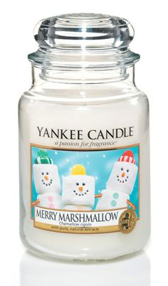 yankee candle marshmallow--We currently have this at the house!