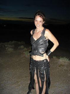 Recycled Bike Tire Dress