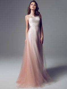 Top 10 Colored Wedding Dresses of 2014 WeddingElation colored wedding gowns - Wedding Gown Wedding Dress Rose, Colored Wedding Dresses, Beautiful Gowns, Beautiful Outfits, Elegant Dresses, Pretty Dresses, Bridesmaid Dresses, Prom Dresses, Formal Dresses
