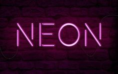 How to Create a Realistic Neon Light Text Effect in Adobe Photoshop, #Graphic #Design, #Light, #Neon, #Photoshop, #Text_Effect, #Tutorial, #Typography