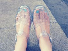 @TheLithiumGirl, Jelly shoes