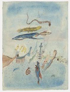 Wols (A. O. Wolfgang Schulze). Gouache #16. (1940-41)