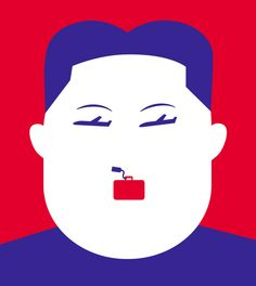 Holiday in North Korea for GQ france - Noma Bar ::: www.dutchuncle.co.uk/noma-bar-images