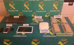 La Guardia Civil impide la venta de más de 211.000 dosis de droga en Albacete