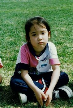 IU as a kid - just as beautiful