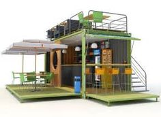 Shipping Container Cafe,Design,and Concept - Container Cafe,Container Restaurant,Container House Café Container, Container Coffee Shop, Container House Design, Shipping Container Restaurant, Shipping Container Home Designs, Pop Up Cafe, Container Buildings, Modern Tiny House, 3d Max