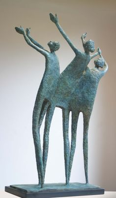 Yeah Yeah Yeah | Paper Mache Sculpture, Pottery Sculpture, Abstract Sculpture, Bronze Sculpture, Soft Sculpture, Ceramic Figures, Ceramic Art, Human Art, Figure Painting