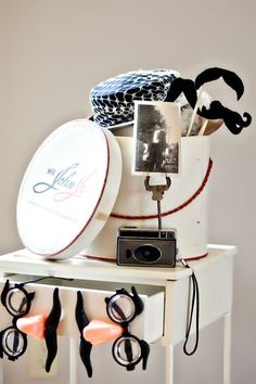 Cute photobooth props! {J. Messer Photography}