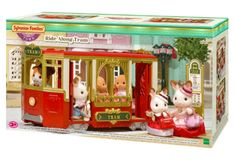 Sylvanian Families Ride Along Tram  #sylvanian #onlineshopping #lb #onlinetoys #lego #toysforsale #toysrusaustralia #toysale #ltoys