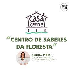 """Na coluna de hoje, @gpiresoficial conta pra gente sobre a Casa do Rio: uma ONG que transforma vidas na comunidade de Careiro Castanho, no Amazonas, com ações de educação, agroecologia, sustentabilidade, formação de mulheres e jovens. Para ler a coluna Quarta Gloriosa, de Gloria Pires, é só ir no link na bio em """"Nossa Voz"""". ⠀ Ah! Não esqueça de nos contar o que achou nos comentários 💚 Link, River House, Sustainability, Community, To Tell, Good Ideas, Women, Amazons"""
