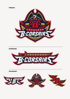 sports logo corsairs