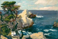 Franz-Bischoff-Seascape-Point-Lobos-American-Seascape-Oil-Painting.jpg 500×339 pixels