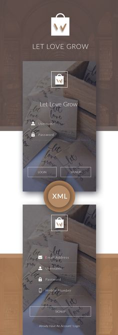 LOVE UI KIT, Processionally designed with clean UI Concept. Download XML files, ready to import in your android application project. Download Now