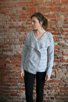 Petrol and Mint: The Arrow sweater - Free pattern
