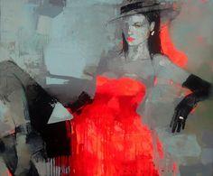 Black and Red | Viktor Sheleg 1962 | Russian Abstract painter | Tutt'Art@ | Pittura * Scultura * Poesia * Musica |