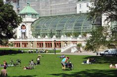 Sunday in Vienna: Rick Steves: Butterfly House, Vienna, Austria Butterfly Pavilion, Butterfly House, Butterfly Exhibit, Glass Butterfly, Franz Josef I, Glass Pavilion, Rick Steves, Palace Garden, Seattle Times