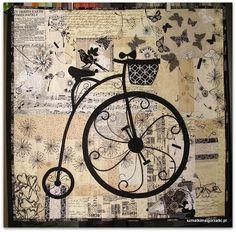 Old Fashion Bicycle - Szmatki Małgorzatki