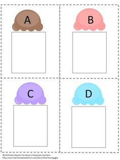 ALPHABET: Uppercase and Lowercase Alphabet Matching Cut Paste Cards. Learning the alphabet is the first and most important step in learning how to read. After this skill is in place, students are ready for the next step in learning how to master reading. With this Uppercase and Lowercase Alphabet Matching Cut and Paste product, students will match the lowercase letter on the cone to the uppercase letter on the ice cream.