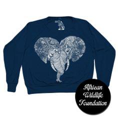409219cda05 20% of price goes to African Wildlife Foundation. Sharp Shirter