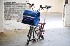 Gilman Brompton Bag from Swift Industries | handmade bicycle panniers and accessories
