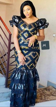 Ankara Dress Styles, Latest African Fashion Dresses, Latest Ankara Styles, African Dresses For Women, African Print Fashion, Africa Fashion, African Attire, African Design, African Style