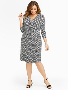 efa5fe4f8890d Talbots - Status Chain-Links Dress     Woman Discover your new look at  Talbots