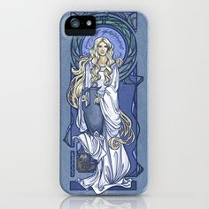 Galadriel+Nouveau+iPhone+%26+iPod+Case+by+Karen+Hallion+Illustrations+-+%2435.00