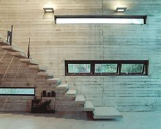 The Staircase Art Warehouse by Architecture Beton Design, Küchen Design, Home Design, Design Ideas, Concrete Staircase, Concrete Art, Concrete Walls, Spiral Staircase, Cabinet D Architecture