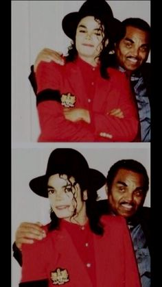 MJ and his father
