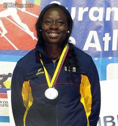 Oro y cupo al Mundial para Colombia en el Suramericano de Atletismo Flor Denis Ruiz, en el lanzamiento de jabalina, logró, además de la medalla de oro, la marca mínima para el mundial, con 60,23 metros.