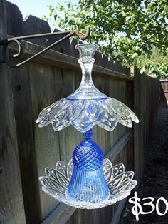 Bird Feeders Made From Glass Dishes birds to enjoy. Tags: Bird Feeder, Repurpose, upcycling glass dishes 736 x 750 · 89 kB · jpeg Glass Bowl Bird Feeders bird feeders 541 x 720 · 111 kB. Glass Garden Flowers, Glass Garden Art, Glass Art, Cristal Art, Hanging Bird Feeders, Garden Totems, Garden Whimsy, Outdoor Crafts, Flower Plates