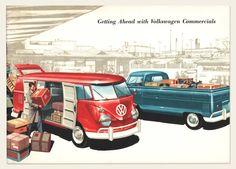 1959 Volkswagen Type 2 (Bus) Brochure | OldBrochures.com