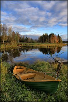 un paseo posible; de pesca incluso