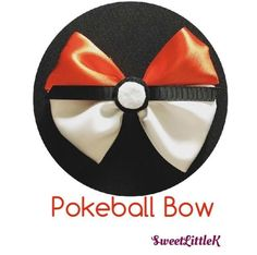 Catch them all with this awesome Pokeball bow!!