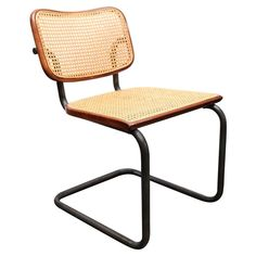 For Sale on - Mid-century modern set of four vintage caned metal dining chairs. Green Leather Chair, Brown Leather Recliner, White Leather Dining Chairs, Leather Recliner Chair, Metal Dining Chairs, Mid Century Dining Chairs, Old Chairs, Vintage Chairs, Living Room Chairs