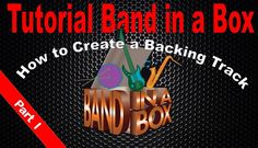 Band in a Box music software for creating backing tracks